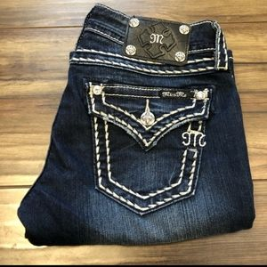 Miss Me Jeans Size 27/34 Boot Cut Mid